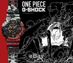 One Piece X G-shock Modèle De Collaboration Ga-110jop-1a4jr Ltd, Pré-commande, Freeship