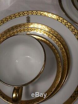 Onetiffany Porcelaine Dîner 5 Piece Place Setting Frank Lloyd Wrightimperial