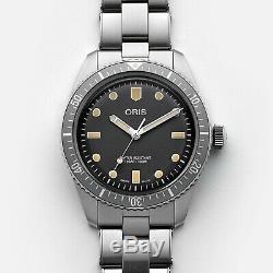 Oris X Hodinkee Edition Limitée (250 Pièces) 65 Vintage Diver Neuf & Jamais Portée