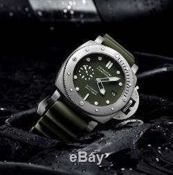 Panerai Pam01055 Verde Submersible Militare Limited Edition 500 Pièces