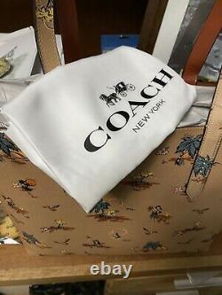 Piece Collection Coach Highline Palm Print Tote 69667 Livraison Gratuite