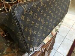 Pièce De Collecteur Louis Vuitton Rare, Édition Vip Neverfull Gm St. Moritz