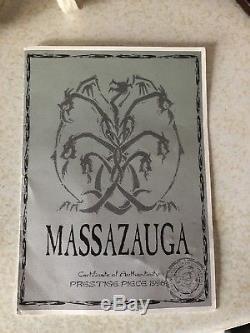 Pièce De Prestige Dragon Enchantica Massazauga Edition Ltd