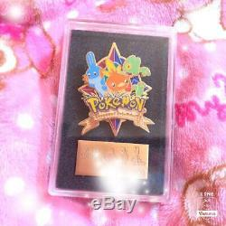 Pokemon Center Pin 1000 Pièces Limited Edition Rare Badge Mudkip Torchic Treeck