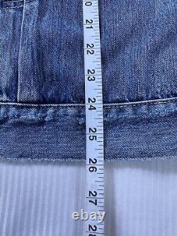 Polo Ralph Lauren Sportsman Trucker Patch Denim Jean Veste Nouveau Avectags Hommes XL