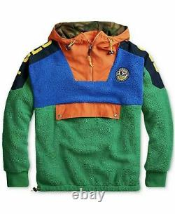 Polo Ralph Lauren Veste Homme Moyen Sportif Polaire Anorak Pullover T.n.-o.
