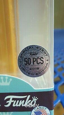 Pop! Pez Freddy Funko Limited Edition 50 Pièces Bonbons Distributeur