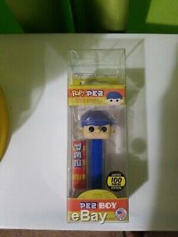 Pop! Pez Pez Boy Blue Hair Edition Limitée 100 Pièces! Funko Pop Pez