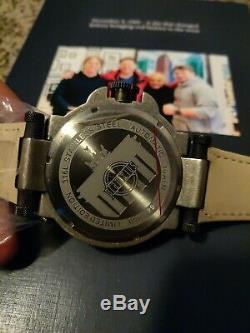 Pramzius Mur De Berlin Automatique Mens Watch Ltd Ed. 48mm Posséder Un Morceau De L'histoire