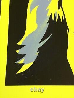 Pure Evil'scarlett Edition' Ltd 10 Pièces! / Jaune Néon / Très Rare / Signé
