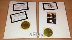 Rare! Death Nyc Ltd Ed Estampe D'art Signée + Piece Manquante Même Empreinte Erreur 21 × 15