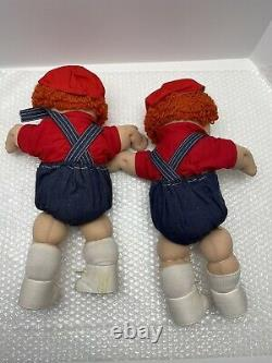Rare Tsukuda Limited Edition Cabbage Patch Kids Twins Japon 85 Stew & Bennet