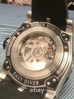 Roger Dubuis Facile Diver Sportif Montre 46mm Suisse Automatique 888 Pièces