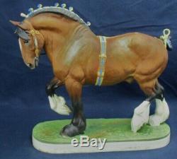 Royal Worcester Shire Horse Ltd 500 Pièces Doris Lindner Vers 1964