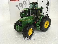 Schuco John Deere 7810 Tracteur Limited Edition De 1000 Pièces, Bnib, 1/32 Échelle