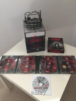 Scie 1-7 Final Trap Edition Limited 2.500 Pièces Blu-ray Non Coupées / Non Évaluées