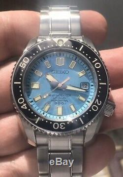 Seiko Marinemaster 300m Sla015 Limited Edition Cadran Bleu 200 Pièces Pour L'europe