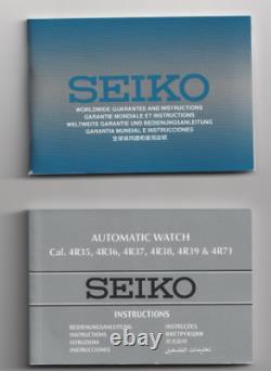 Seiko Recraft Édition Limitée Hommes 1969-piece'ufo' (4r36 Mvnt) Réf. Srpc16k1