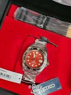 Seiko Spb099j Zimbe Red Shogun Limited Edition 500 Pièces Numérotée