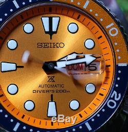 Seiko Srpc95k1 Prospex Turtle Edition Limitée Neuf Le Dernier Morceau
