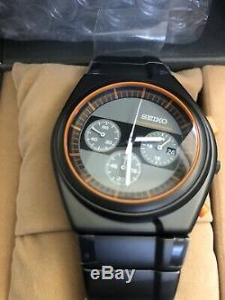 Seiko X Giugiaro Chronographe Sced053 Limited 1500 Pièces Montre-bracelet À Quartz Pour Hommes