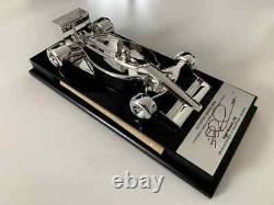Signé Édition Limitée De 130 Pièces Nigel Mansell Signé Ferrari 640 1/18 Modèle
