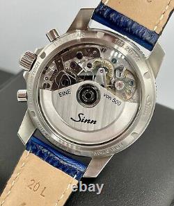 Sinn 103 Sa B E Edition Limitée 500 Pièces Cadran Bleu Swiss Valjoux 7750 Automatique