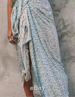 Sort Rare Designs Gypsy Boho Oracle Vintage Scarf Voyage Wrap Sarong Jetez Bnwt