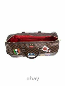 Sprayground Intonational Voyage Patch Empereur Monogram Duffle Bag World D3360