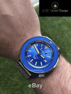 Squale 60 Atmos Blue Edition Limitée Puro (n ° XX De 160 Pièces)