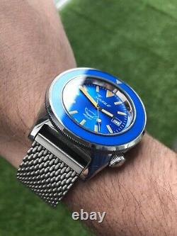 Squale 60 Atmos Blue Puro Limited Edition (no. XX De 160 Pièces)