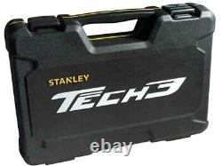 Stanley Tech3 Limited Edition 1/2 Pouce Drive 61 Piece Socket & Accessoire Set