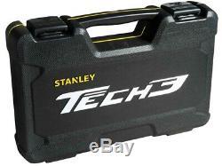 Stanley Tech3 Limited Edition 1/4 Et 1 / 2po Entraînement 78 Pièces Et Accessoires Socket Set