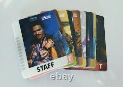 Star Wars Celebration Anaheim 2020 Commémorative 17 Pièces Badge Set Ltd Ed. 500