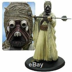 Statue D'attakus Star Wars Tusken Raider, Édition Limitée, 1372/1500, Pièce D'étalage