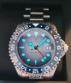 Steinhart Ocean 1 Gmt Premium Blue Ceramic Limited Edition 50 Pièces Seulement