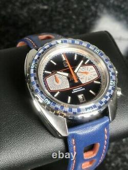 Straton Watch Co Synchro Colonne Roue Chronograph Limited 200 Pièces 44mm