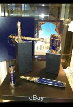 Stylo Plume St Dupont Prestige 1001 Nights Collector, Édition Limitée