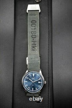 Suf Helsinki 180 Blue Dial Limited Edition 50 Pieces Montre Automatique Homme