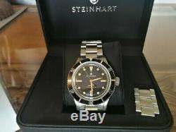 Superbe Rare Steinhart Ocean One Ltd Edition 199 Héritage Pièces 42mm