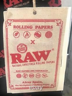 Suppuble De Suppuire De Support De Raw Med Med Support Raw Rolling Papier Limited Edition Gratuite
