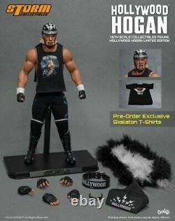 Tempête Collectibles Hollywood Hogan Limited Edition 500 Pièces Made 12 1/6 16