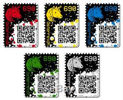 Timbre De Chiffrement 10 Stück, Black Edition Ltd. 78,5k, Blockchain Ethereum, 10 Pièces