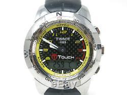 Tissot T Touch Titanium Motogp 2009 Édition Limitée De 1000 Pièces De L'horloge Montre Rare