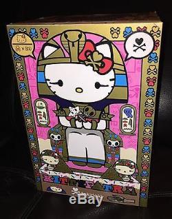 Tokidoki X Hello Kitty Edition Limitée (500 Pièces) Kittypatra Gold 10 Vinyl Nib