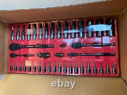 Tout Nouveau Dans La Boîte Jesse James Mac Tools 210 Piece Limited Edition Socket Set Rare