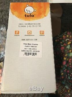 Tula Porte-bébé Limitée Edition'party Pieces' Avec Son Emballage D'origine