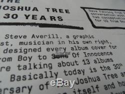 U2 Fanzine 116/1500 + Patch Super Édition Limitée Island Records The Joshua Tour