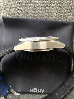 Unimatic U1-mp Montre Limited Edition 100 Pièces 300 Stérile Bezel Montre De Plongée
