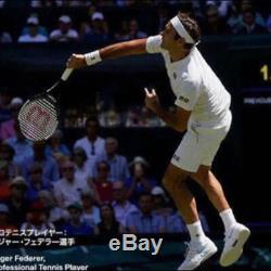 Uniqlo Roger Federer 2018 Wimbledon Tennis 5 Pièces Ssize Set Edition Limitée